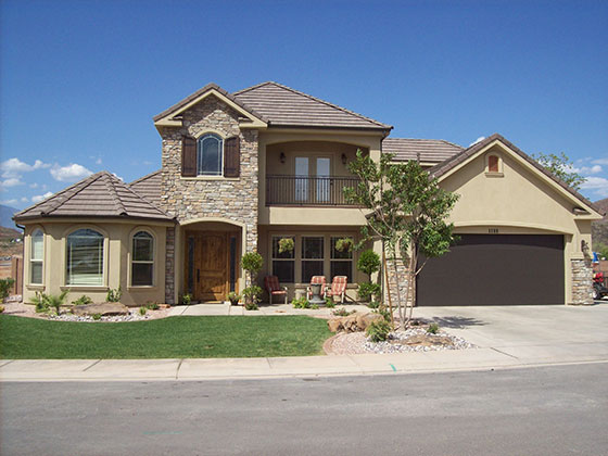 Affordable Low Cost House Plans 3,289 Sq. Ft. / 4 Bedroom & 3.5 Bath